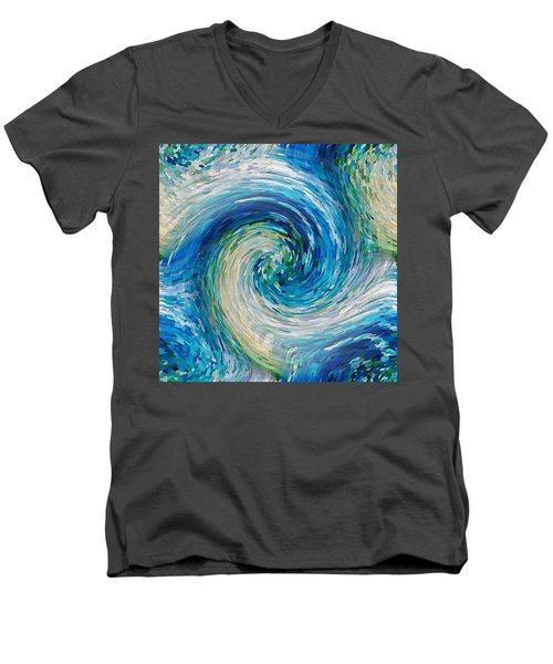 Wave To Van Gogh II Men's V-Neck T-Shirt