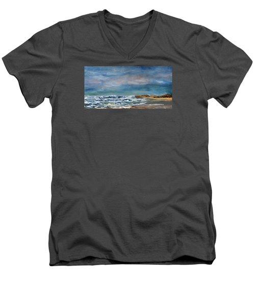 Wave Upon Wave Men's V-Neck T-Shirt