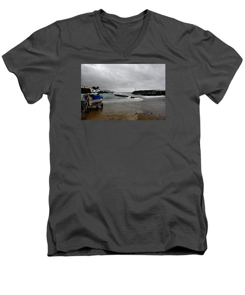 Waves Azores-033 Men's V-Neck T-Shirt