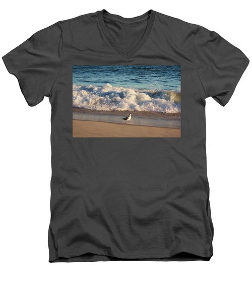 Waves Crashing  Men's V-Neck T-Shirt