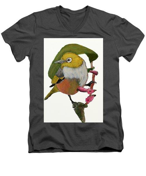 Waxeye Men's V-Neck T-Shirt