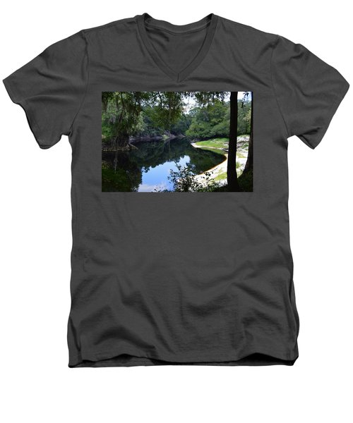 Way Down Upon The Suwannee River Men's V-Neck T-Shirt