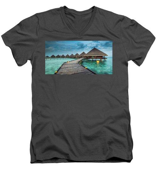 Way To Luxury 2x1 Men's V-Neck T-Shirt