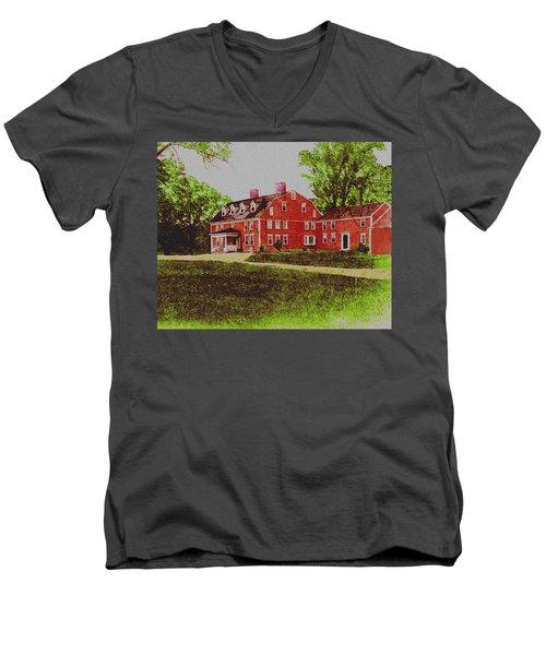 Wayside Inn 1875 Men's V-Neck T-Shirt