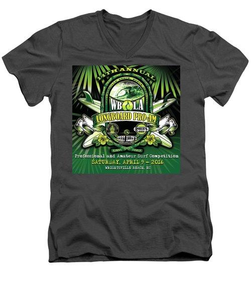 Wbla Proam 2016 Men's V-Neck T-Shirt