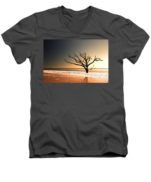 Men's V-Neck T-Shirt featuring the photograph We Can Be Heroes by Dana DiPasquale