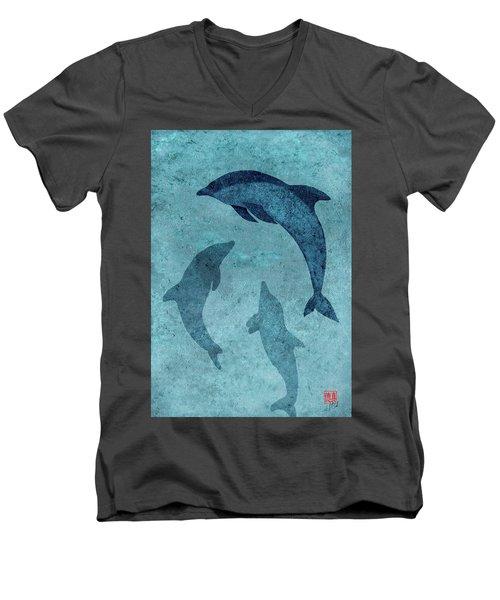 We Dream Again Of Blue Green Seas Men's V-Neck T-Shirt