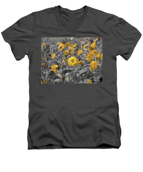 We Fade To Grey Men's V-Neck T-Shirt