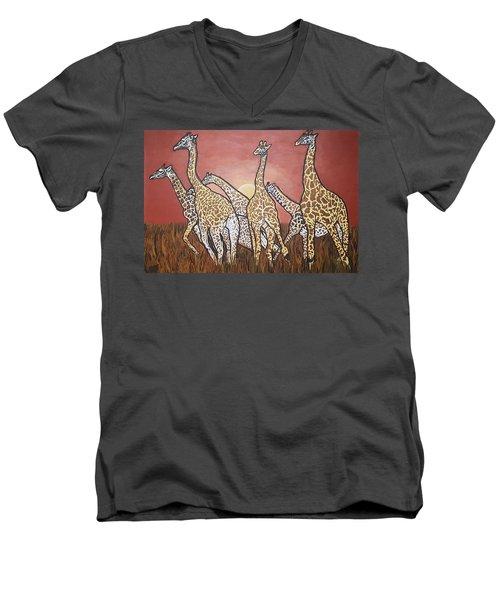 We Jammin Still Men's V-Neck T-Shirt