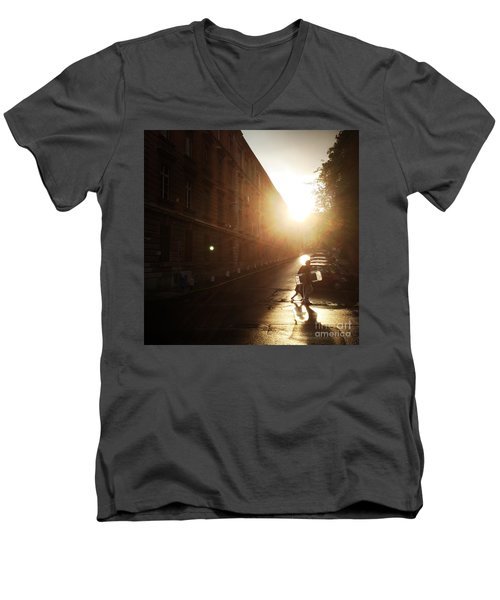 We Live In Budapest #11 Men's V-Neck T-Shirt
