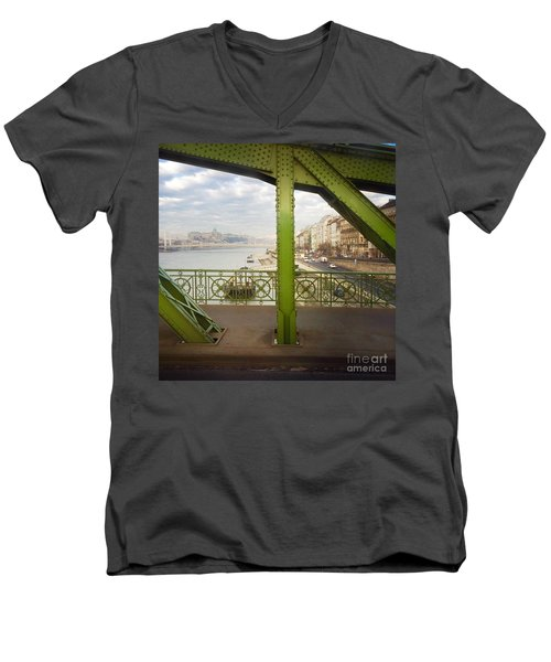 We Live In Budapest #4 Men's V-Neck T-Shirt
