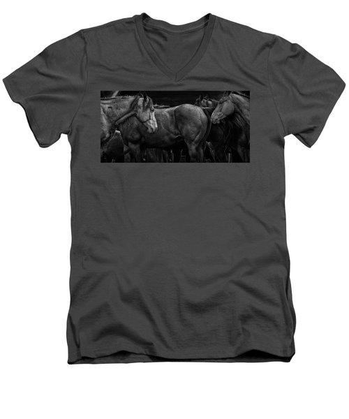We Meet Again Men's V-Neck T-Shirt