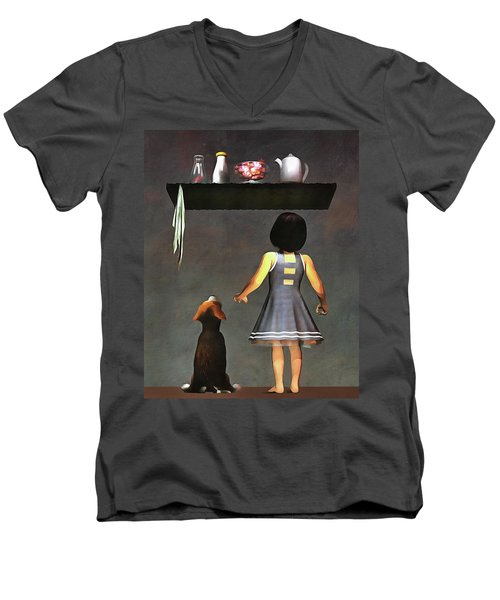 We Want Those Candies Men's V-Neck T-Shirt