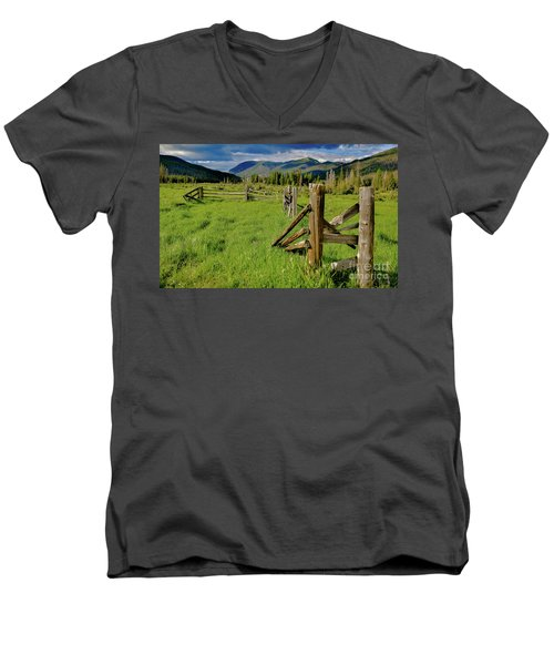 Weathered But Standing Men's V-Neck T-Shirt