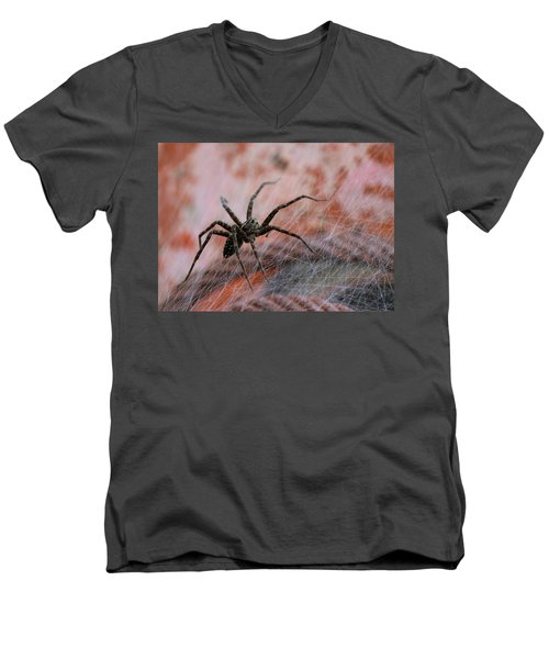 Web Men's V-Neck T-Shirt