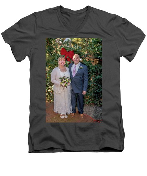 Wedding 1-3 Men's V-Neck T-Shirt