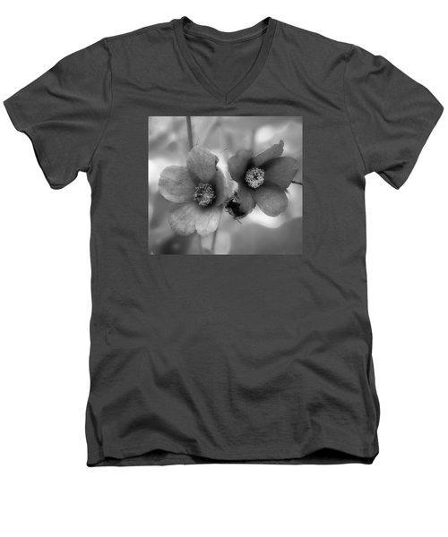 Weed 2 Men's V-Neck T-Shirt by Simone Ochrym