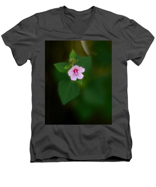 Weed Flower 907 Men's V-Neck T-Shirt