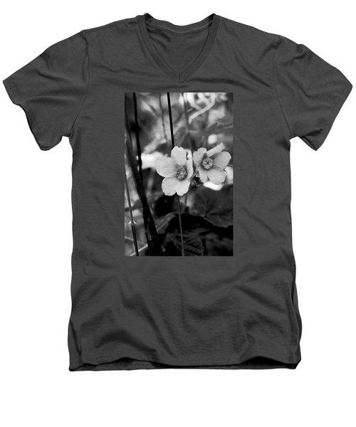 Weeds 1 Men's V-Neck T-Shirt by Simone Ochrym