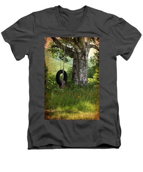 Weeee  Men's V-Neck T-Shirt