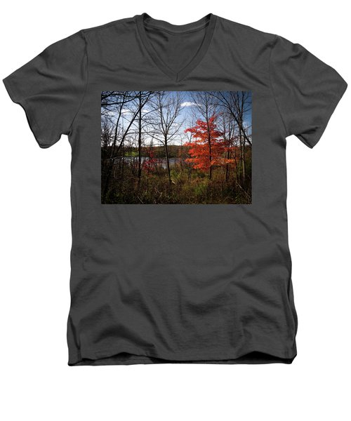 Men's V-Neck T-Shirt featuring the photograph Wehr Wonders by Kimberly Mackowski