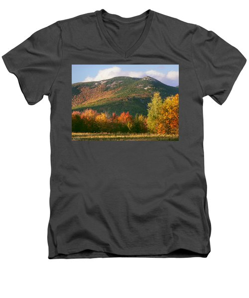 Welch And Dickey Mountains Men's V-Neck T-Shirt