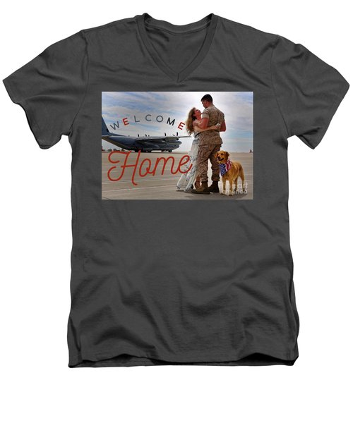 Welcome Home Men's V-Neck T-Shirt