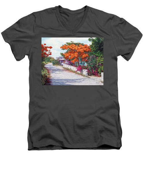 Welcome To Current Men's V-Neck T-Shirt