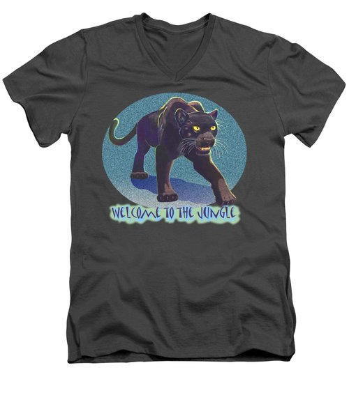 Welcome To The Jungle Men's V-Neck T-Shirt