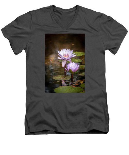 Men's V-Neck T-Shirt featuring the photograph We'll Make It Last Forever by Wade Brooks