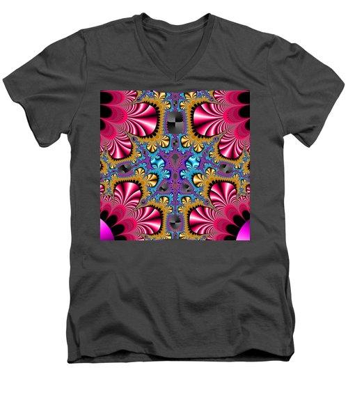 Wepoirwers Men's V-Neck T-Shirt