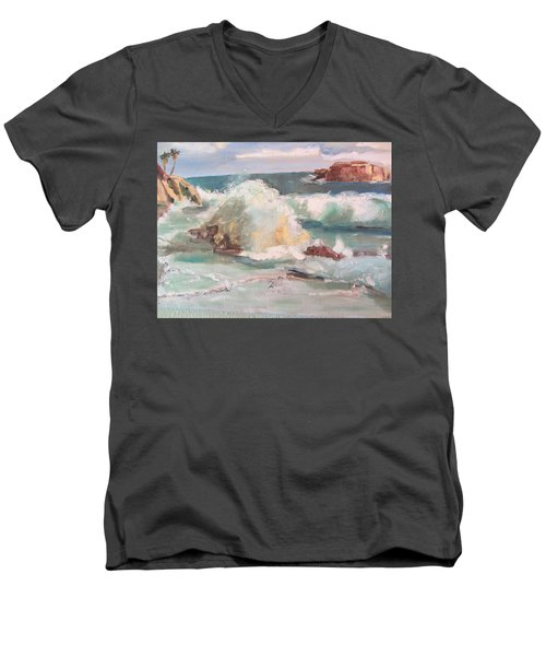 West Coast Men's V-Neck T-Shirt