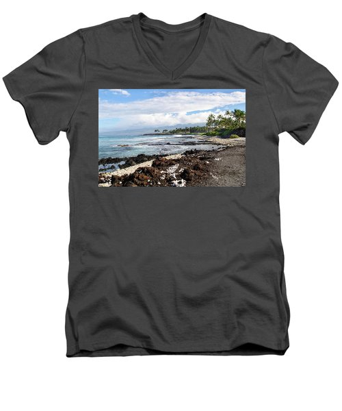 West Coast North Men's V-Neck T-Shirt