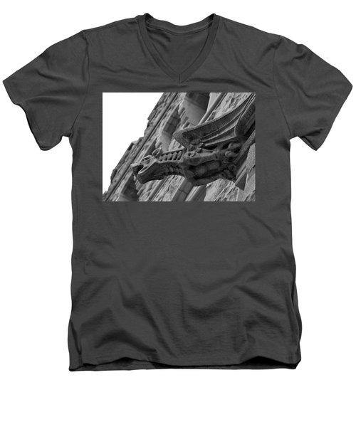 West Point Gargoyle Men's V-Neck T-Shirt