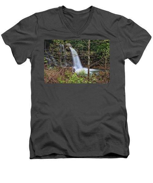 West Virginia Highway 16 Treat Men's V-Neck T-Shirt