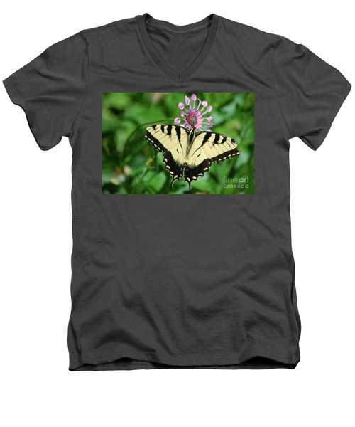 Western Tiger Swallowtail Men's V-Neck T-Shirt