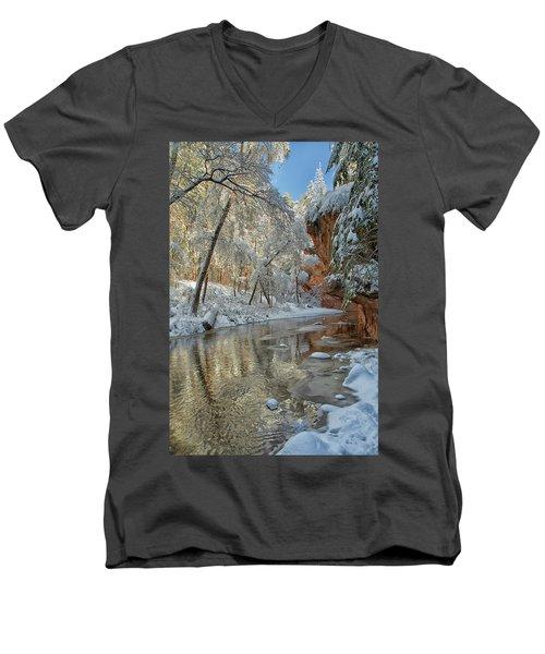 Westfork's Beauty Men's V-Neck T-Shirt by Tom Kelly