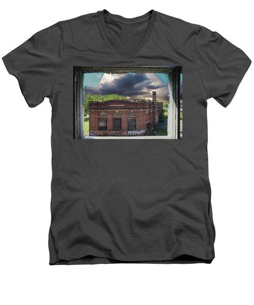 Westinghouse In A Storm Men's V-Neck T-Shirt
