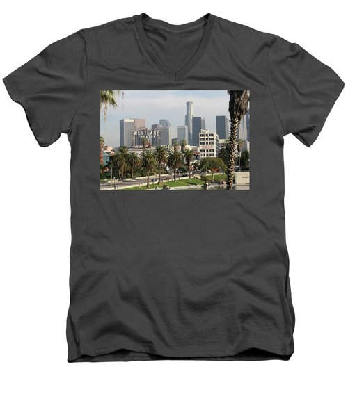 Westlake Theatre To Downtown La Men's V-Neck T-Shirt