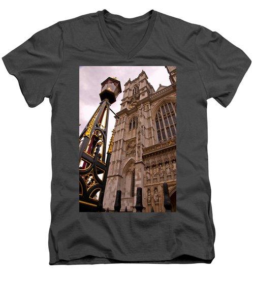 Westminster Abbey London England Men's V-Neck T-Shirt
