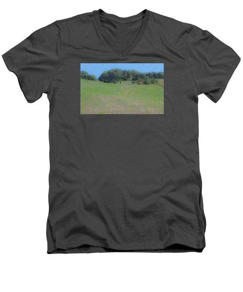 Westport Meadow Men's V-Neck T-Shirt
