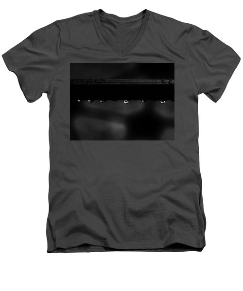Men's V-Neck T-Shirt featuring the photograph Wet Bar by Richard Rizzo