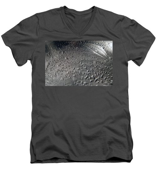Wet Steel Men's V-Neck T-Shirt by Keith Armstrong