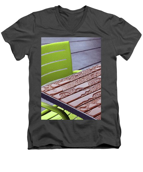 Wet Table Men's V-Neck T-Shirt by Christopher McKenzie