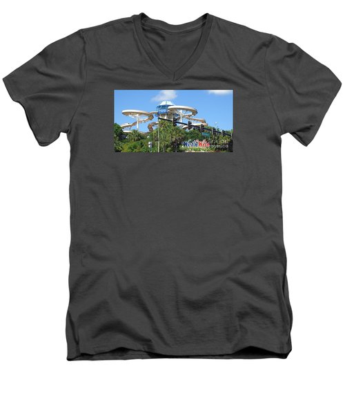 Wet'n Wild Ride. Orlando, Fl Men's V-Neck T-Shirt
