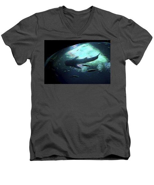 Whale Shark Of The Earth Men's V-Neck T-Shirt