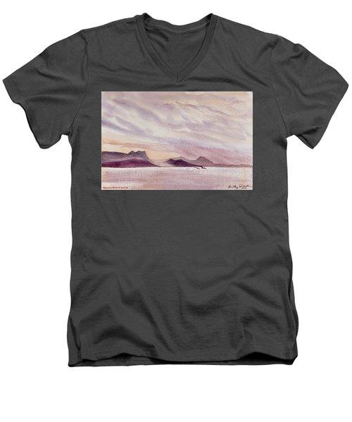Whangarei Heads At Sunrise, New Zealand Men's V-Neck T-Shirt