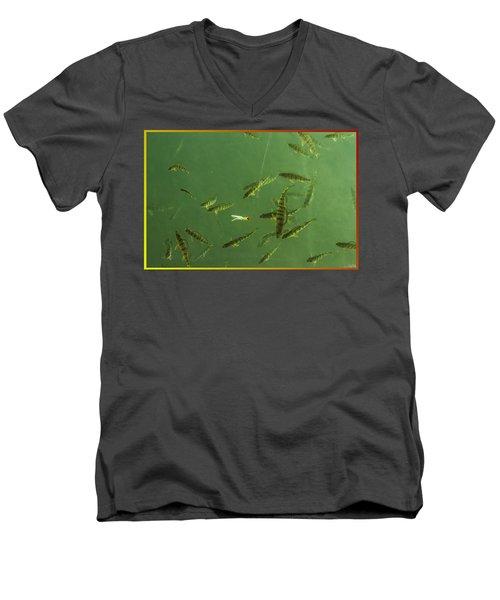 What A Line Men's V-Neck T-Shirt