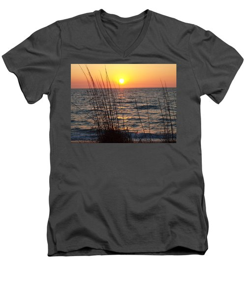 Men's V-Neck T-Shirt featuring the photograph What A Wonderful View by Robert Margetts