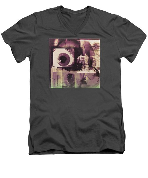 What Does The Eye See Men's V-Neck T-Shirt by Cathy Anderson